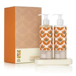 Orla Kiely Bergamot Hand Wash and Lotion Set