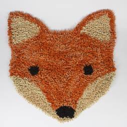 Fox Head Rug