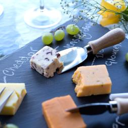 Slate Cheese Board And Knife Set