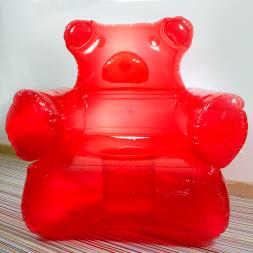 Inflatable Gummy Bear Chair