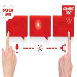 Hi! Voice Recorder Fridge Magnet