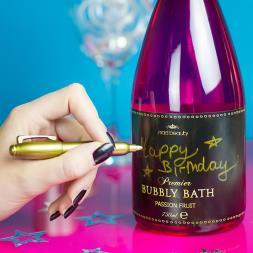Message On A Bottle - Bubbly Bubble Bath