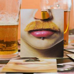 Face Beer Mats