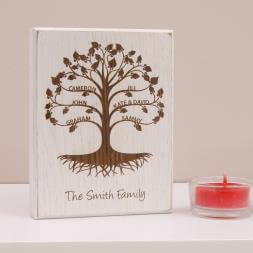 Personalised Mini Family Tree