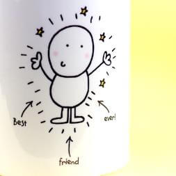 Personalised Chilli & Bubbles Mug - Best Friend