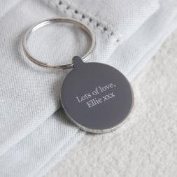 Personalised The Moment I Met You Keyring