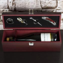 Personalised Wine Bar Gift Set
