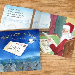 Personalised christmas book your letter to santa buy from title productoducttitle personalised christmas book your letter to santa play video personalised christmas spiritdancerdesigns Gallery