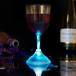 LED Colour Changing Wine Glass
