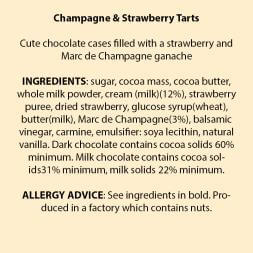 Marc de Champagne & Strawberry Truffles