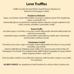 Chocolate Love Truffles