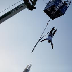Bungee Jump at London 02 Arena