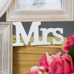 Mr & Mrs Heart Multi Photo Frame