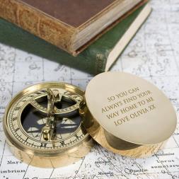 Personalised Pocket Sundial