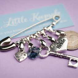 Personalised Wedding Pin