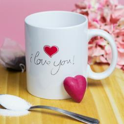 Personalised I Love You Mug