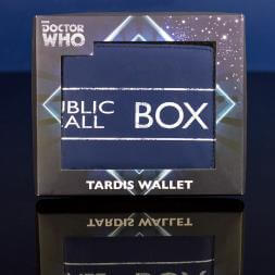 Dr Who Tardis Wallet