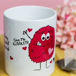 Personalised Love Monster Mug