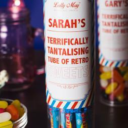 Personalised Sweet Tubes