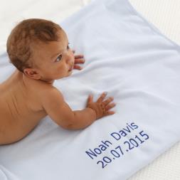 Personalised Baby Fleece Blanket