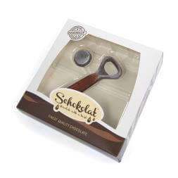 Chocolate Bottle Opener & Cap