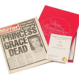 Original Newspaper 40th Birthday in a Gift Box
