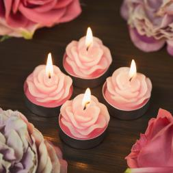 Blossom Rose Tea Lights