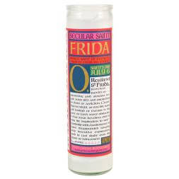 Secular Saints - Frida Kahlo Candle