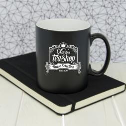 Personalised Tea Shop Mug