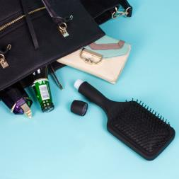 Smuggle Your Booze - Stealth Hair Brush
