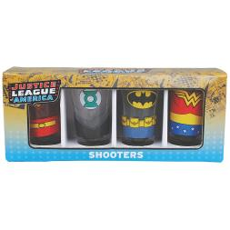 Justice League Shot Glasses