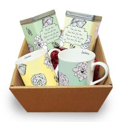 Personalised Tea For Two Hamper
