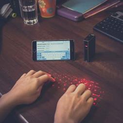 Laser Keyboard And Power Bank