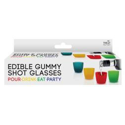 Edible Gummy Shot Glasses