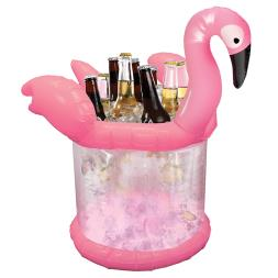 Flamingo Inflatable Ice Bucket