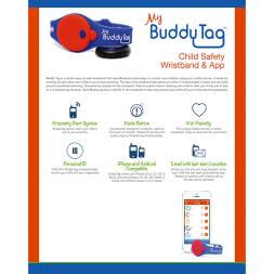 My Buddy Tag - Child Location Device - Blue