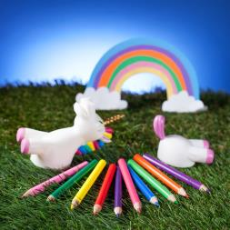 Unicorn Rainbow Pencils