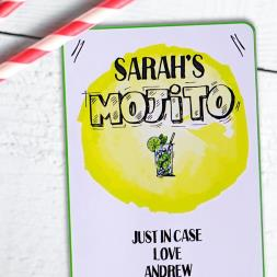 Personalised Mojito Cocktail Kit