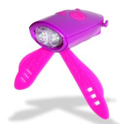 Hornit Bike Light And Sound Effect Accessory - Pink
