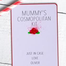 Personalised Cosmopolitan Cocktail Kit