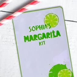 Personalised Margarita Cocktail Kit