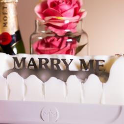 Melting Messages - Marry Me Candle
