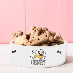 Personalised Dog Treat Bowl