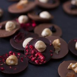 Fruit & Nut Chocolate Discs