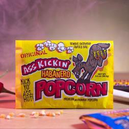 Ass Kickin' Muslin Microwave Popcorn