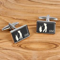 Personalised Golf Cufflinks