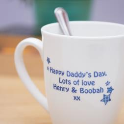 Personalised World's Best Daddy Mug