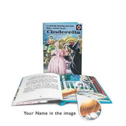 Personalised Ladybird Book of Cinderella