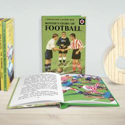 Personalised Ladybird Book of Football
