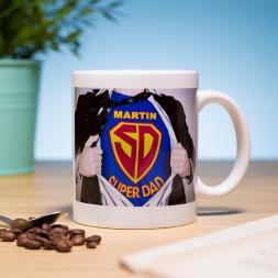 Personalised Superdad Mug